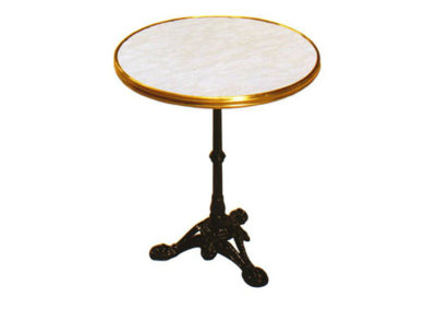 Table cerclée Bistrot 1